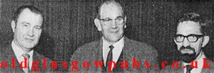 image of John Donaghey, Anthony McAulay and John Waterson. 1970
