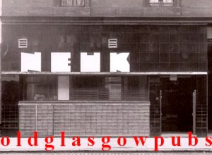 Image of the Neuk Bar Dumbarton Road Partick 1938