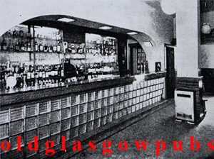 Image of the interior of the Neuk Bar 1938