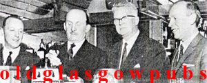 Image of Alf Daniels at the opening of the Pippin Duke Street 1965