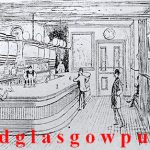 Drawing of the interior of Carlton Vintners Company 1891