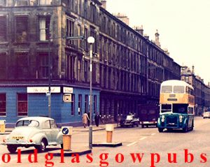 Image of the Carousel Bar Argyle Street corner of Radnor Street