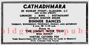 Advert for the Cathadhmara 1971