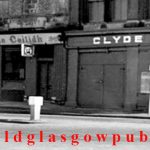 Image of the Ceilidh Bar corner of Clyde Place and West Street 1975