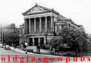 Image of Langside Hill Church Algie Street Glasgow 1959