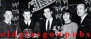 Image of the Citizen Bar Darts Team 1972