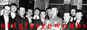 Image of the Citizen Bar runners up darts team 1967