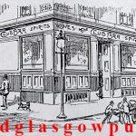 Drawing of the Club Bar Pollokshaws Road 1895