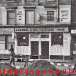 Close-up image of the Coliseum Bar Eglinton Street