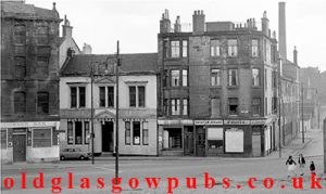 Exterior View of the Corner Bar Stirling Road Townhead 1970s