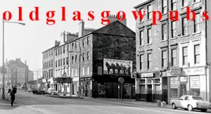 Image of the Cottage Bar Eglinton Street corner of Wallace Street 1970s