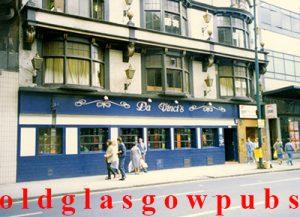 Image of Da Vincis Argyle Street 1980s