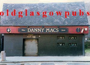 Image of Danny Macs Duke Street, Glasgow 1991