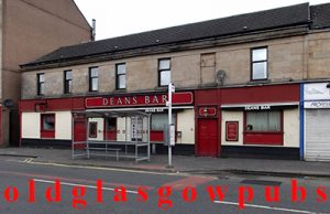 Image of Deans Bar Shettleston 2011