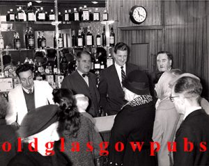 Image og the interior of the opening of the Off Sales at Deans Bar 1960s