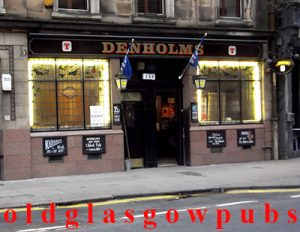 Image of Denholms Bar Hope Street 2011