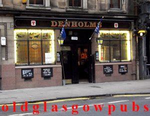 Image of Denholms Bar Hope Street 2011