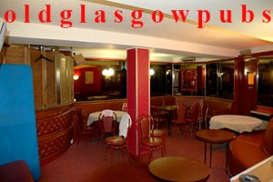 Image of the lounge downstairs in Denholms Bar Hope Street 2008