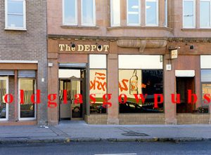 Image of The Depot Bar Victoria Road, Glasgow 1991