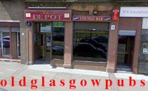 Image of The Depot Bar Victoria Road, Glasgow 2008