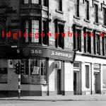 Exterior view of the Devon Bar Eglinton Street 1970s