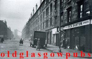 Image of Dick Barton pub Moffat Street Gorbals