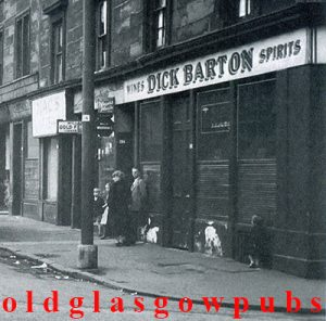 Image of Dick Barton bar Moffat Street Gorbals