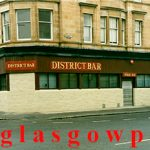Image of the District Bar Paisley Road West 1991
