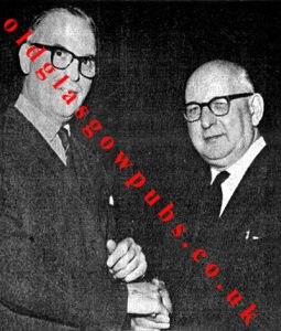 Image of Douglas Scobie and Peter Scott of Wyper Bar 1967