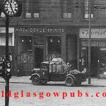 Exterior image of Doyle's Bar Gorbals Street 1960s