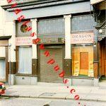 Exterior view of the Dragon Bar, Buchanan Street, 1991.