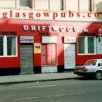 Exterior image of the Driftwood Bar Argyle Street 1991