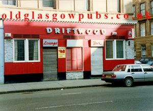 Exterior image of the Driftwood Bar Argyle Street 1991
