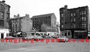 Exterior view of the Gallowgate showing The Drover The Market Bar and the Tappit Hen bar 1970s