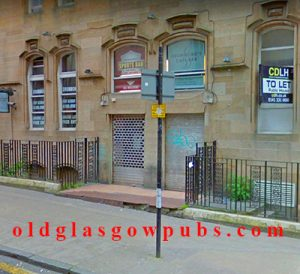 Exterior image of Drummond's Sports Bar West Regent Street 2014