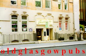 Image of Drummond's Bar West Regent Street 1991
