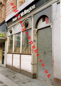 Duke of Wellington Argyle Street 1991