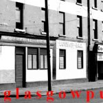 Closeup image of the Errigal View bar Eglinton Street 1970s