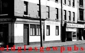 Closeup image of the Errigal View bar Eglinton Street 1970s