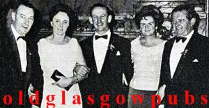 Image of the Gorbals licensed trade in 1968