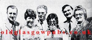 group image with john Donnachey. 1973.