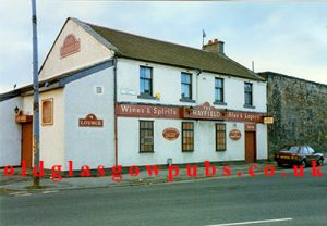 Exterior view of the Hayfield Old Dalmarnock Road 1991