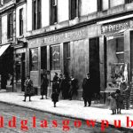 Image of James Cook's public house Main Street Cambuslang early 1900s