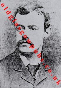 Image of Mr James MacKenzie proprietor of the Commercial Inn Stranraer 1895