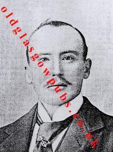 Image of Mr James McCorry of the Club Bar Pollokshaws Road 1895