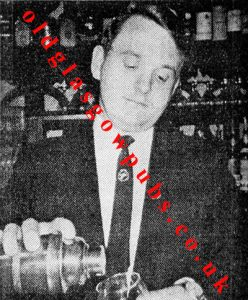 Image of Jim Slavin manager of the Cellar Bar 1970