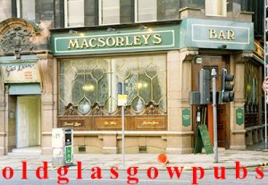 image of MacSorley's Bar 42 Jamaica Street, Glasgow