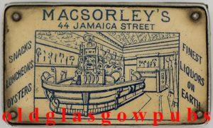 image of MacSorley's Vesta matchbox very old