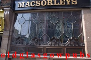 MacSorley's windows taken from Jamaica Street 2009