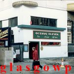 Image of Ocean's Eleven bar Sauchiehall Street 1991